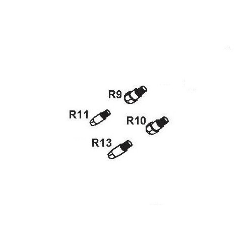Punta de contacto para antorcha CRW 36 M/6