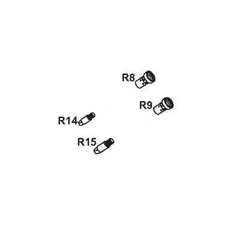 Punta de contacto para antorcha CRW 401-501 M/6 y portapuntas